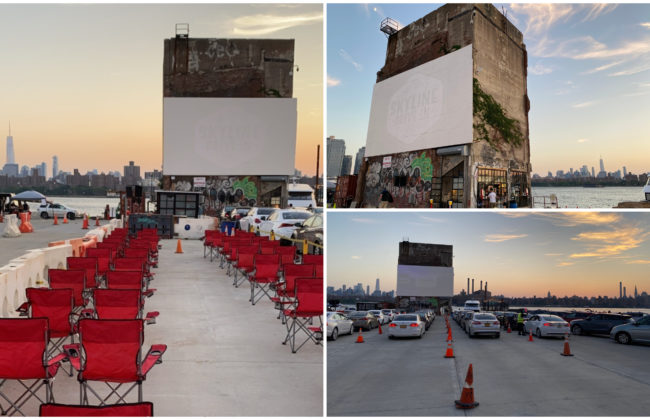 Movie with a view